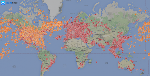 Flight Tracker Coverage