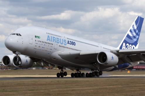 BA Airbus A38