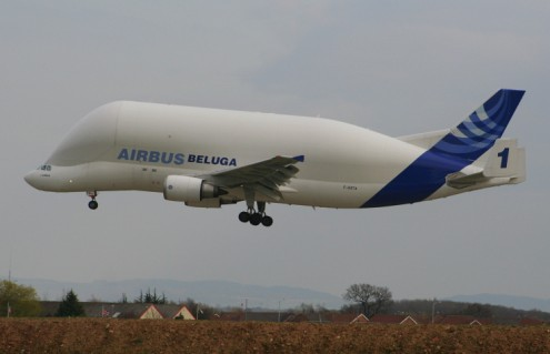 Airbus Beluga F-GSTA - Photo © Mark Murdock - pinkfroot.com