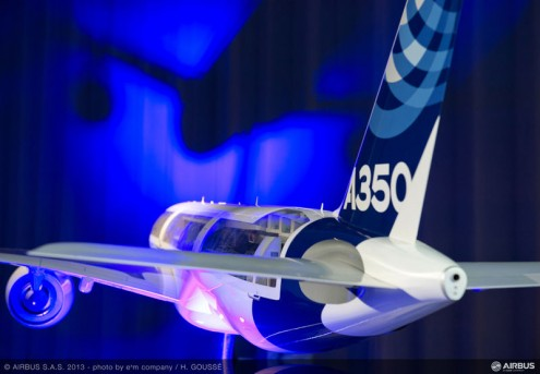 Airbus_2013_NYPC_ambiance_A350_mock-up