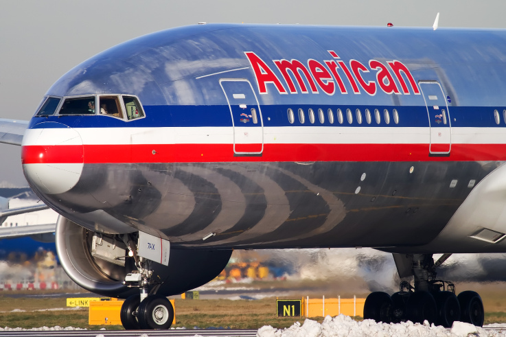 American Airlines Boeing 777 N750AN - Photo © Darryl Morrell - pinkfroot.com