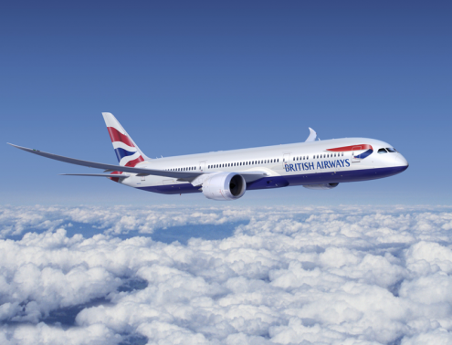 Second Uk Dreamliner BA 787