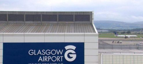 Glasgow Airport Tracking