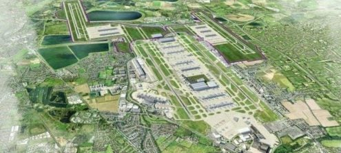 New Runway at Gatwick, Birmingham and Heathrow