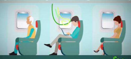 Airplane HEPA filters