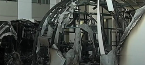 Flight Simulator Sets Fire to Airport