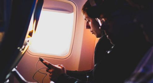 How Does in-Flight WiFi Work? | Plane Finder