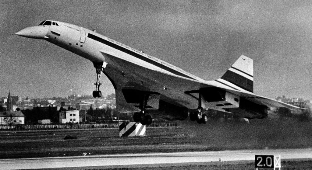 Concorde first flight